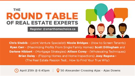 mastermind event the table of real estate experts