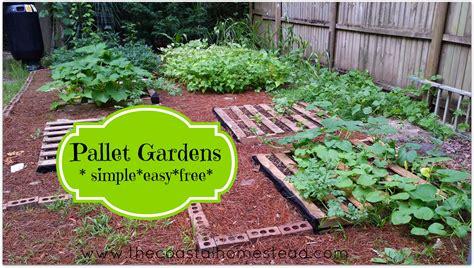 pallet gardens simple easy free the coastal homestead