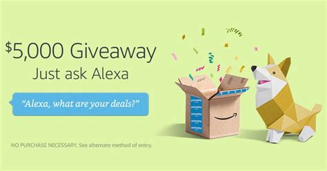 Prime Day Giveaways - alexa voice shopping 5 000 prime day giveaway winzily