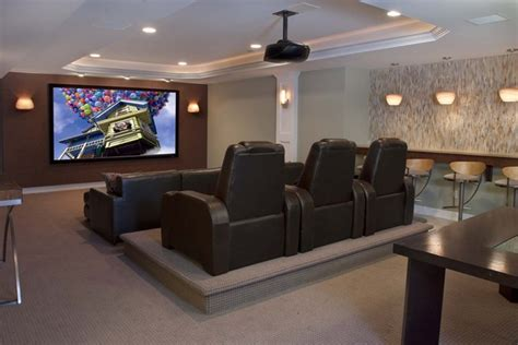 contemporary family entertainment contemporary home