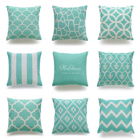 Cheap Pillows For by Get Cheap Aqua Throw Pillows Aliexpress