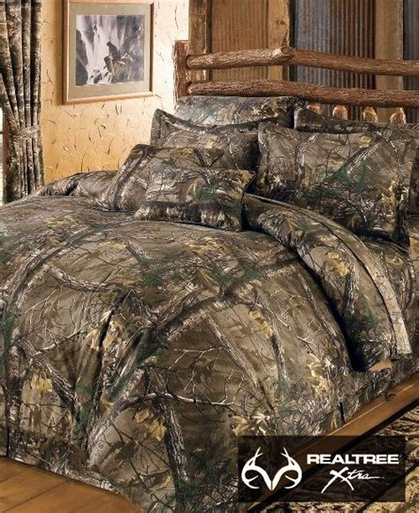 camo bedroom set dress up your bedroom with a natural new realtreextra camo bedding this complete 10 piece