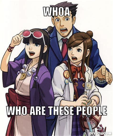 Phoenix Wright Meme Generator - who are these memes image memes at relatably com