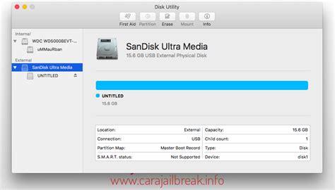 Hardisk Eksternal Mac cara format hdd usb flashdisk di mac os x