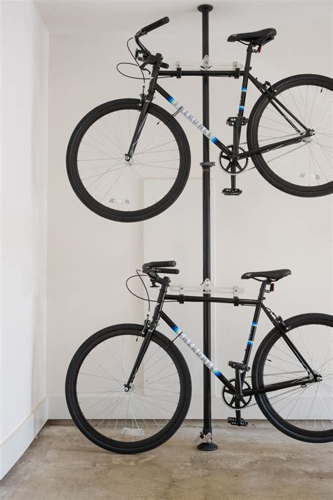indoor bike storage ideas great indoor bike storage design with single iron pole and