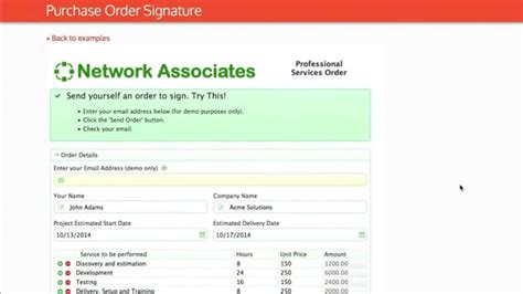 sharepoint purchase order workflow purchase order signature form and workflow