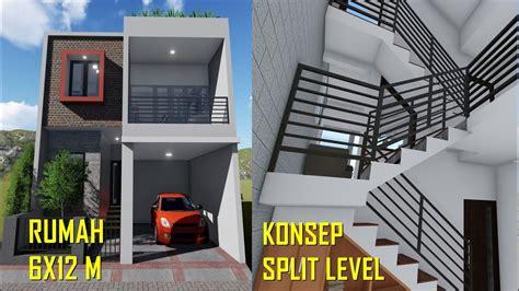 Desain Rumah Sederhana 6×12