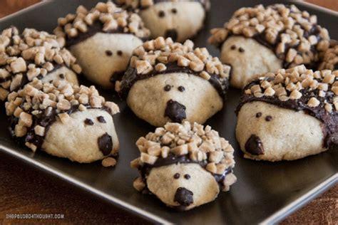 Hedgehog Cookies Food Hedgehog Cookies chai tea cookies she paused 4 thought