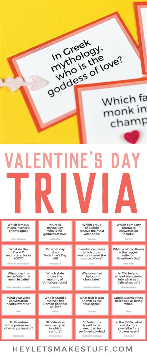 valentines day trivia 375 best passive programs for the library images on