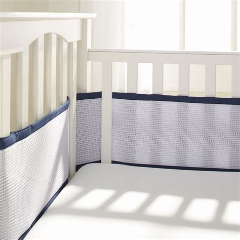 breathablebaby 174 deluxe mesh crib liners breathablebaby