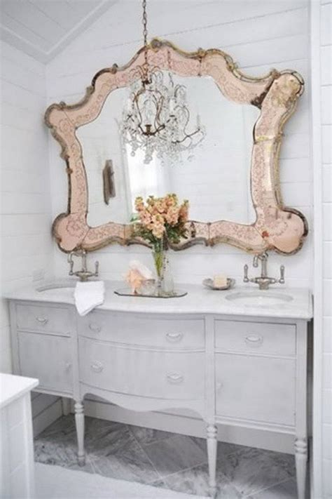 shabby chic bathroom mirrors 1000 ideas about vintage mirrors on pinterest mirrors