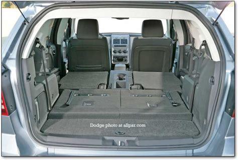 Dodge Journey Interior Space by El Crossover Dodge Journey 2009