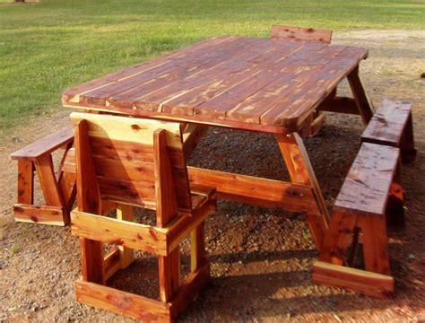 free picnic table plans with separate benches woodworking plans free standing shelves online woodworking plans