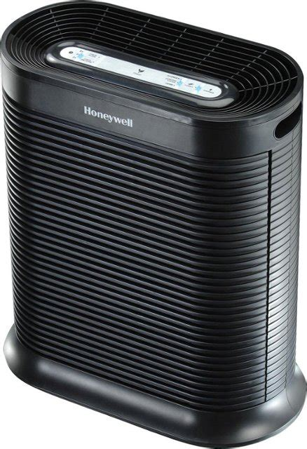 honeywell true hepa 465 sq ft air purifier black hpa300 best buy