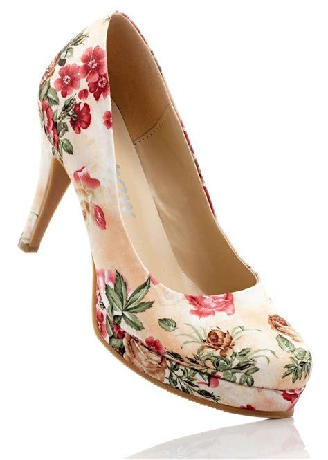 printed high heels high heels floral print heels glamfashion leading