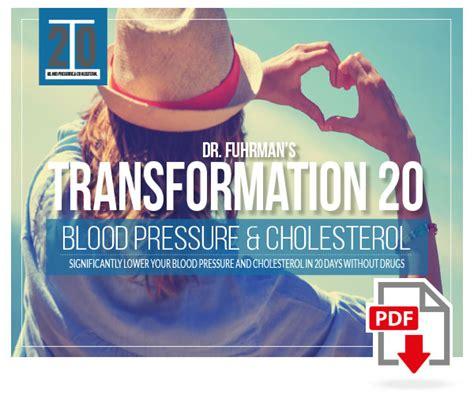 dr fuhrmans transformation  blood pressure