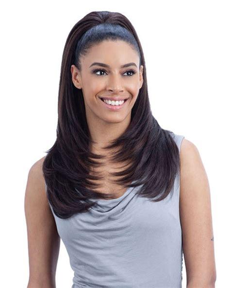 freetress equal fullcap drawstring half wig hot girl freetress equal drawstring fullcap half wig refined girl