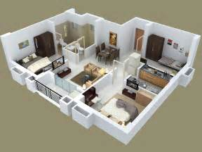 Three Bedroomed House Plan 25 Three Bedroom House Apartment Floor Plans