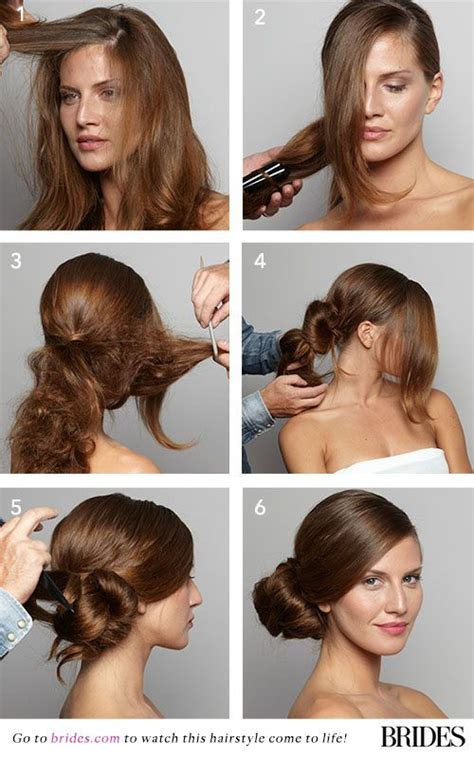 diy hairstyles side bun wedding hairstyle 101 how to diy a side bun