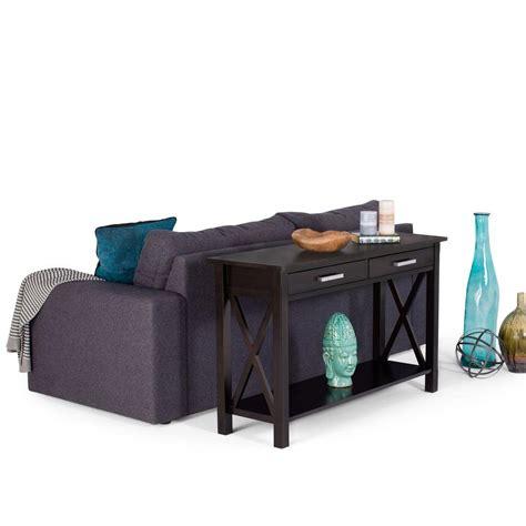 kitchener storage simpli home kitchener walnut storage console table