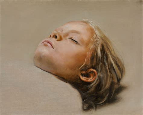 Painting Sleepers by Michael Borremans Hypocritedesign