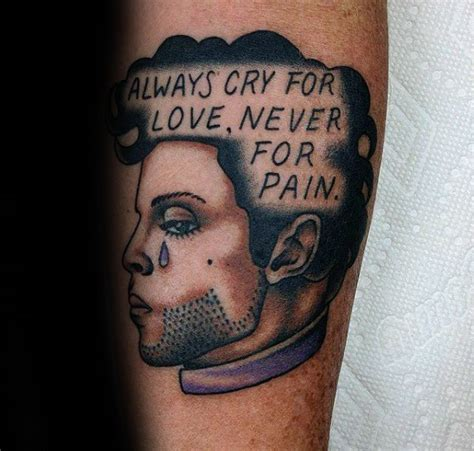 tattoo song lyrics ideas 50 prince tattoo designs for men musician ink ideas