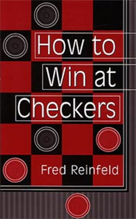 reinfeld how to win at checkers