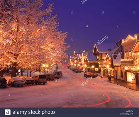 chelan county wa christmas lights of leavenworth s