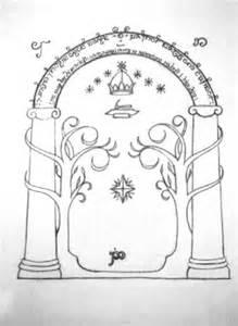 doors of durin by tayleasheyne on deviantart