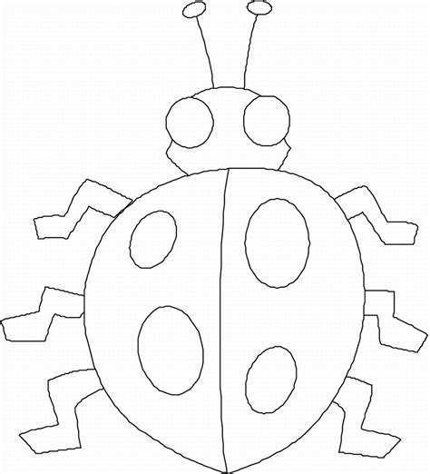 preschool coloring pages bugs spring kindergarten classroom activities 9 funnycrafts