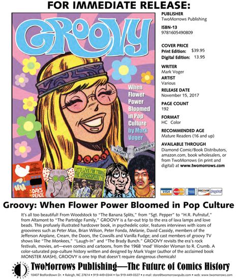 groovy when flower power bloomed in pop culture books