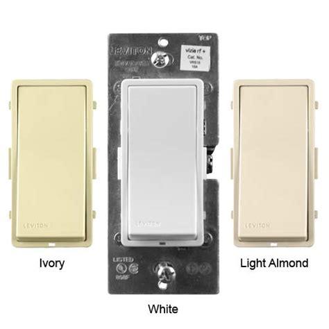 leviton wireless light switch leviton 174 vizia rf designer wall switches