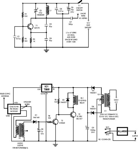 car remote schematic design