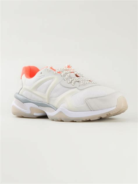 sneakers for mcqueen x run low sneakers in white for