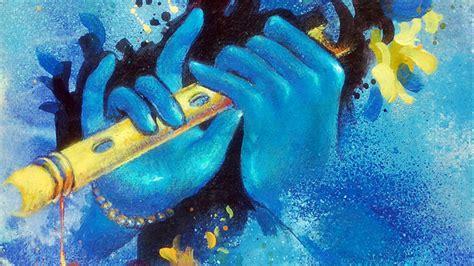blue krishna wallpaper why is krishna blue