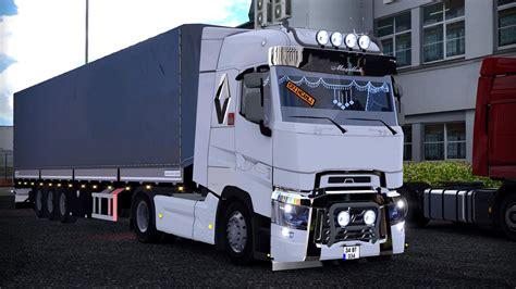 renault truck 2016 euro truck simulator 2 fa 231 alı renault range t modu