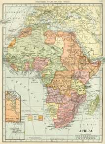 Old Map Of Africa by Historical Geography Map Of Africa Free Digital Image