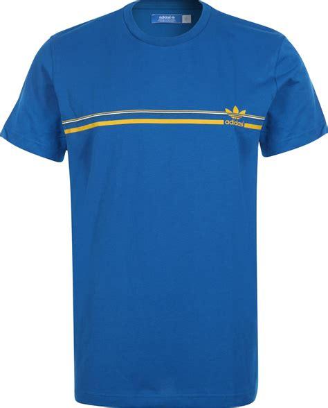 Shirt Logo Adidas adidas logo t shirt blauw