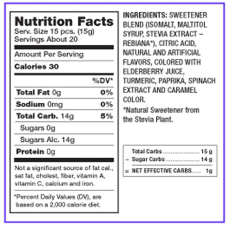 wyler s light singles to go nutritional information deceit sugar free uses stevia gluten