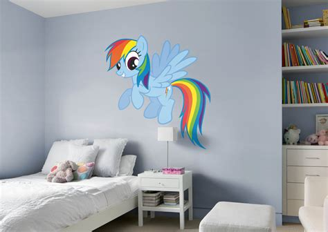 rainbow dash room rainbow dash wall decal shop fathead 174 for my pony decor