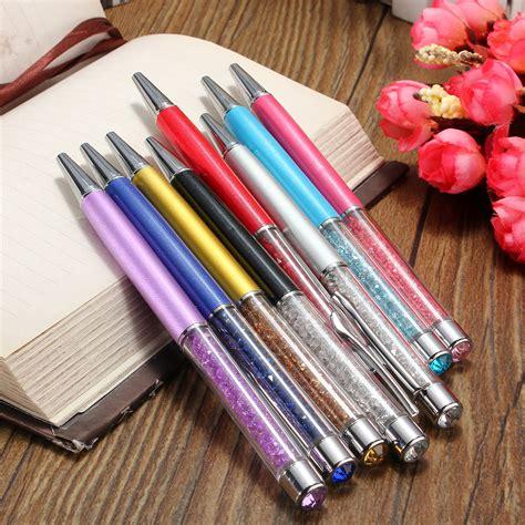 Rhinestone Pen 5pcs lot top slim pens rhinestone
