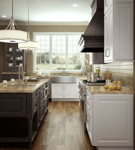 accent finishes within a kitchen for the home