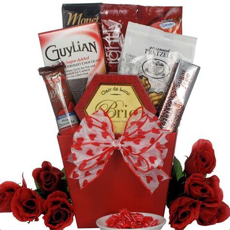 sugar free valentines my sweet sugar free gourmet gift basket