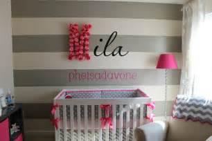 modern baby nursery diy nursery wall