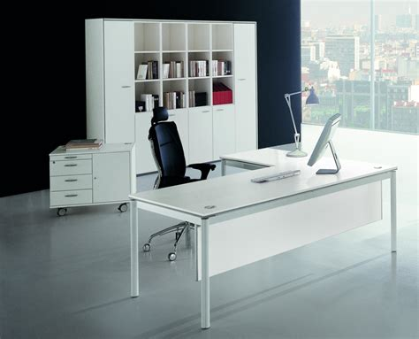white and glass desk white glass office desk home office furniture set