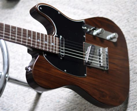 shabby chic guitars rosewood electric with fender original vintage telecaster pickups
