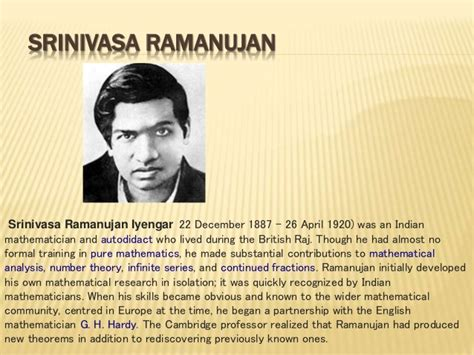 ramanujan biography in hindi 5 indian mathematicians