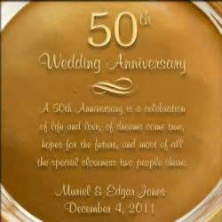 50th anniversary plates you can engrave personalized gold glass 50th anniversary plate