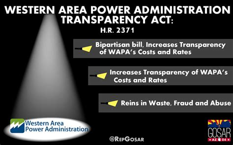 mail house gov rep gosar bill to curb waste fraud and abuse at wapa moves forward congressman