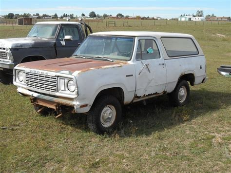 1978 dodge ramcharger for sale for sale 1978 dodge ramcharger for b bodies only